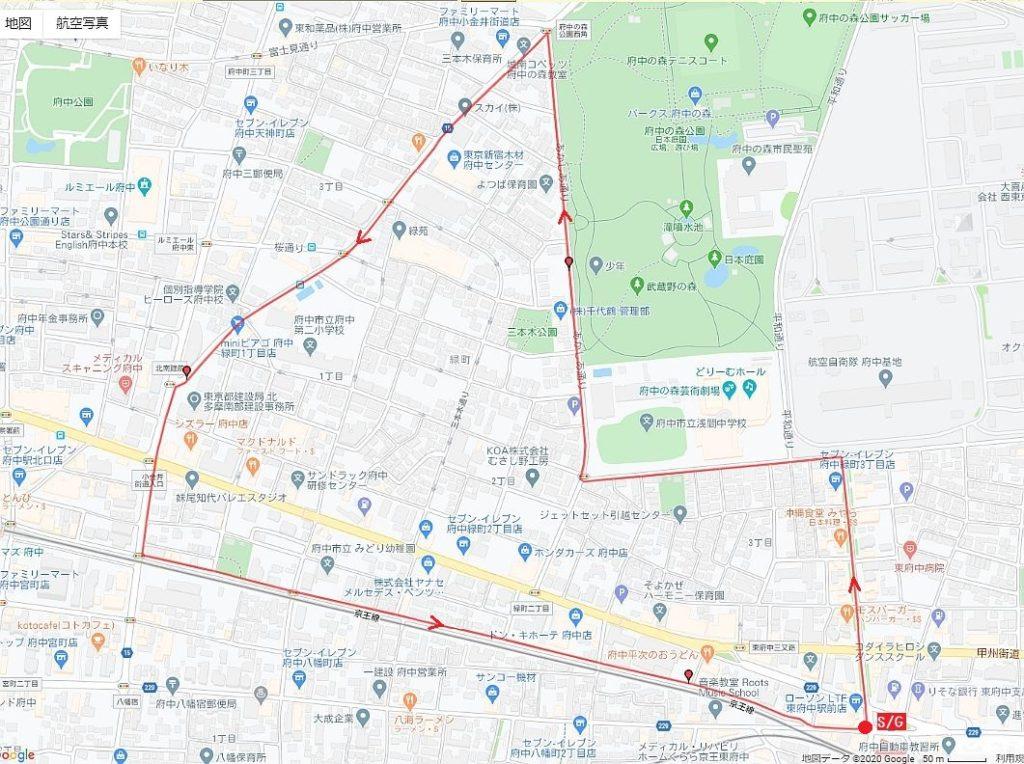 緑町コース図